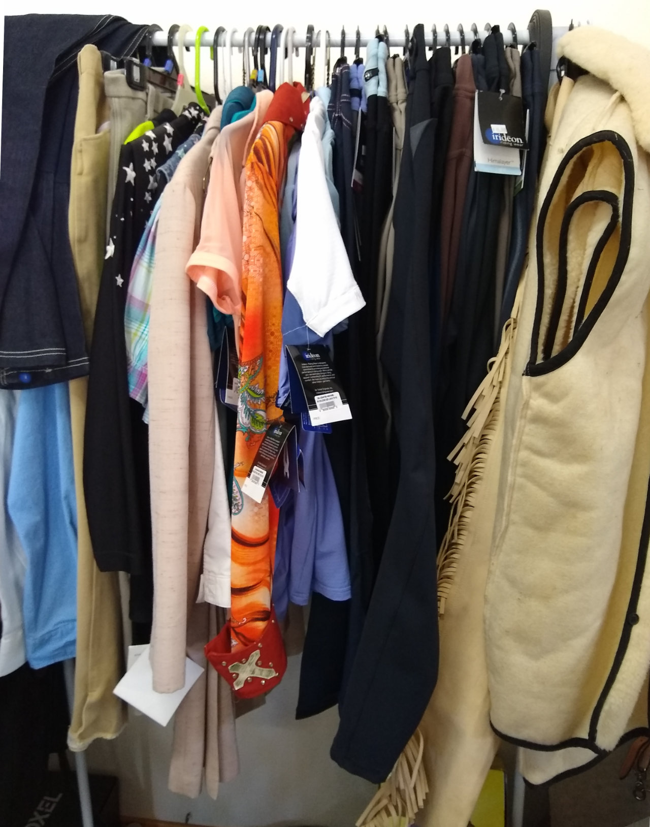 A selection of clothing